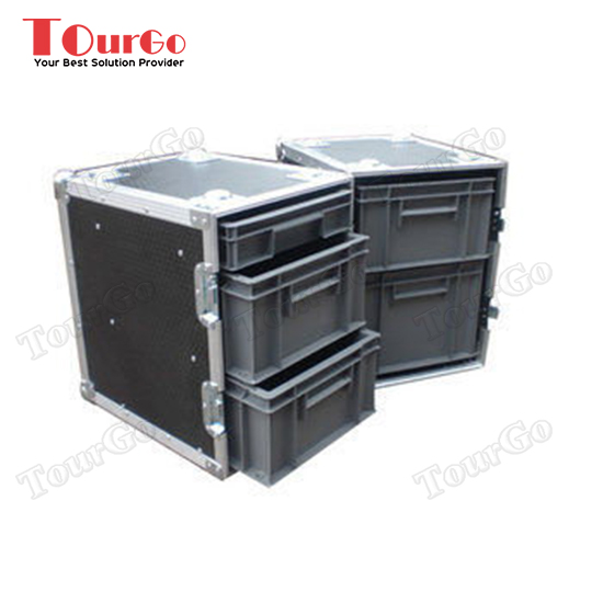 TourGo Custom Twin Door Production Flight Case