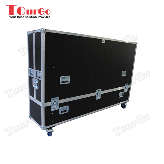 TourGo LCD Plasma Split Lift Of Lid 90 Flight Case