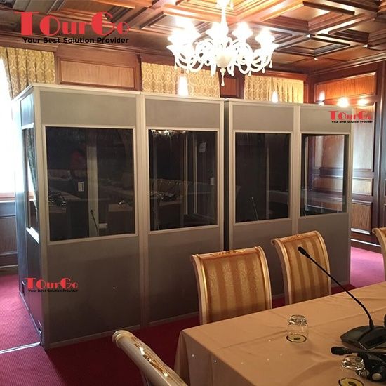 ISO Interpretation Booth/Soundproof Booth For Simultaneous Translation