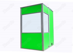 Portable One Person Interpreter Booths in Green