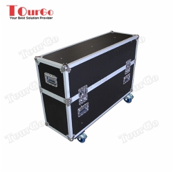 TourGo Plasma Screen Twin Flight case 55 Custom built