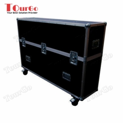 TourGo Plasma Screen Twin Flight Case 60 Custom built