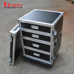 TourGo Road Case Style 4 Drawer Tool Box