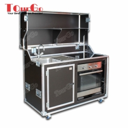 Custom Flight Case for Cafeteria Flight Case Kitchen