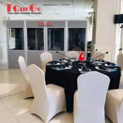 TourGo ISO 4043 2016 Interpretation Booth For Conference In Albania