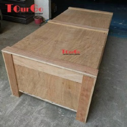 Wood Case For Two Person Interpreter Booth