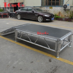 Scaffolding Aluminum Stage Platform Used Portable Stage For Sale