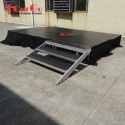 Tourgo Cheap Price Movable Aluminium Outdoor Concert Stage