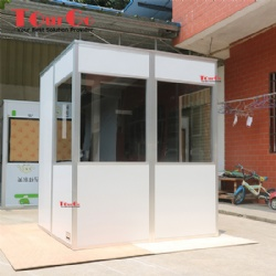 ISO 4043 2016 Norm Simultaneous Interpretation Booth With White Color