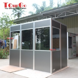 Mobile 3 Person Soundproof Interpreter Booths