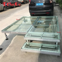Acrylic Adjustable Aluminum Stage For Show