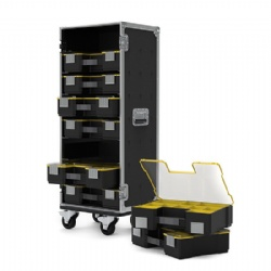8 STANLEY FATMAX ORGANISER FLIGHT CASE