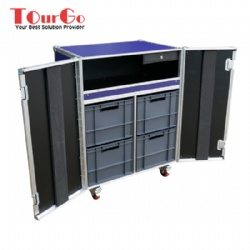 Merchandise With Cash Drawer Flightcase