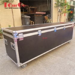 Custom Flight Case For 20pcs Upright & 16pcs Crossbar