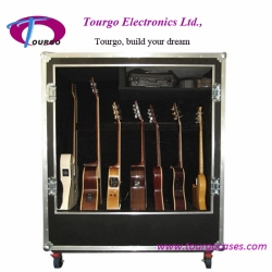 Guitar Cabinet flight case Hold 7pcs of Guitars