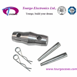 Conical coupler & Pin --Accessories for Aluminum Truss