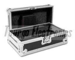 DJ Mixer Cases -  10inch DJ Mixer Case with Front Door - Accommodates  All 10inch Mixers From 7.75inch to 10.75inch Wide 18.5inch D