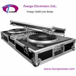 2pcs Turntables / 10inch Mixer DJ Coffin –Battle Style