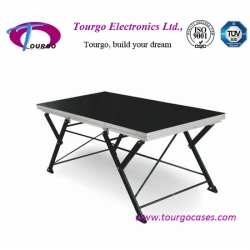 Tourgo X-Shaped Folding Stage